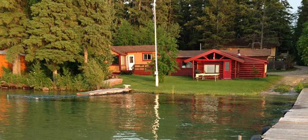 Beau Beautiful Lakefront Cabins
